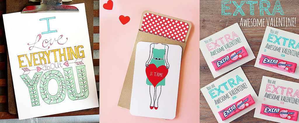 POPSUGAR Shout Out: Valentine's Day Printables That Aren't Cheesy