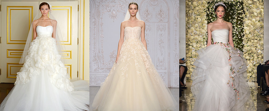 The Top 10 Strapless Wedding Dresses of 2014