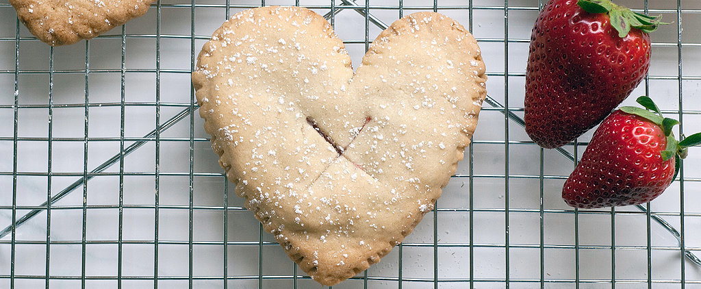 "These Strawberry Heart Hand Pies Are the Sweetest Way to Say ""I Love You"""