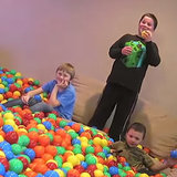 Dad Turns House Into Giant Ball Pit