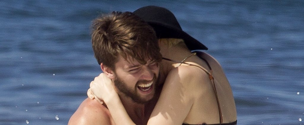 Miley Cyrus Straddles Patrick Schwarzenegger on Their Sexy Beach Getaway
