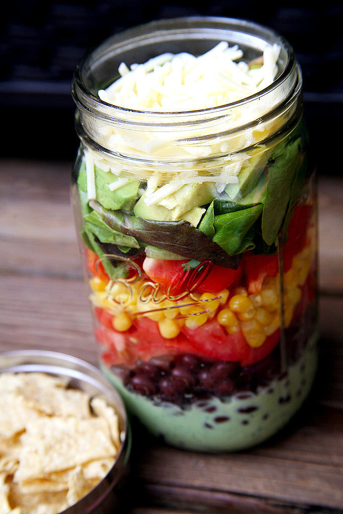 2019 year lifestyle- Salad Layer dressing