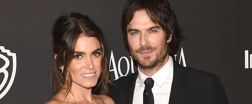"Nikki Reed Surprised Ian Somerhalder With a Cute ""I Love You"" Cake"