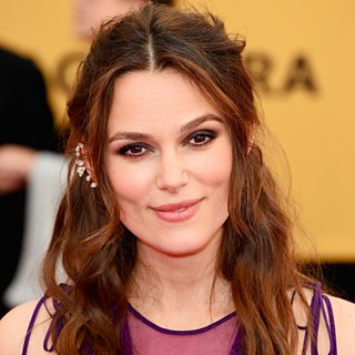 Keira Knightley Hair and Makeup at the SAG Awards 2015