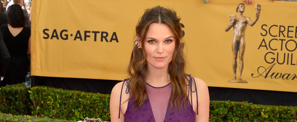 How to Look as Edgy-Glam as Keira Knightley IRL