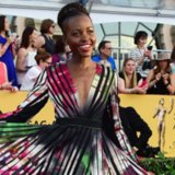 Lupita Nyong'o Dress at SAG Awards 2015