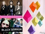 "Weekend Shut-In Worksheet: Watch ""Black Mirror,"" Rock Out To Sleater-Kinney & Make Origami"