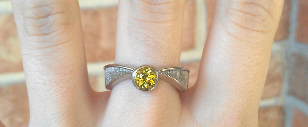 This Magical Harry Potter Engagement Ring Has Gone Completely Viral