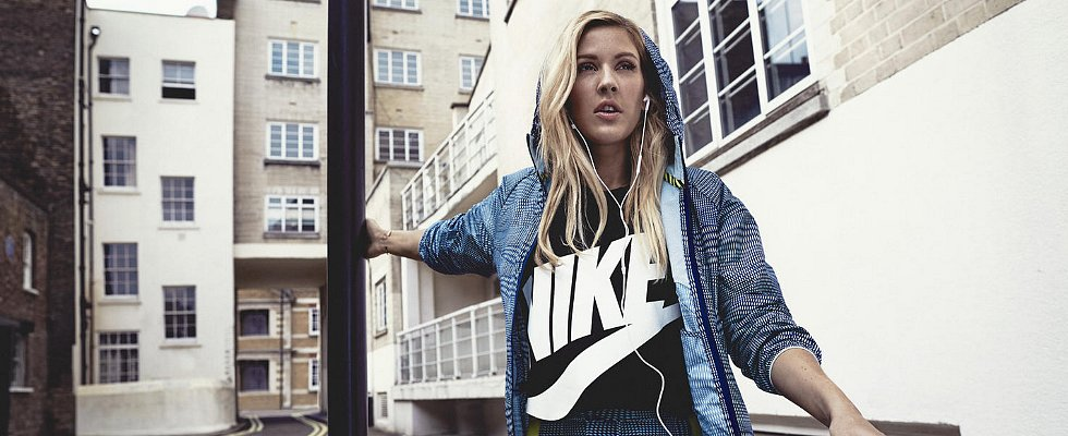 POPSUGAR Shout Out: Ellie Goulding Shows Off Her Fit Bod in New Ads For Nike