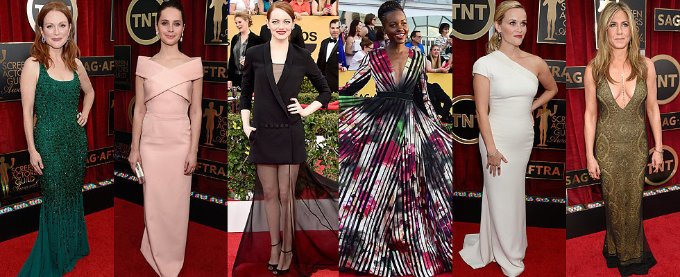 The Fashion Choices at the SAG Awards Deserve 5 Stars