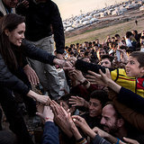 Angelina Jolie Gets Big Grins From Kids at a Refugee Camp