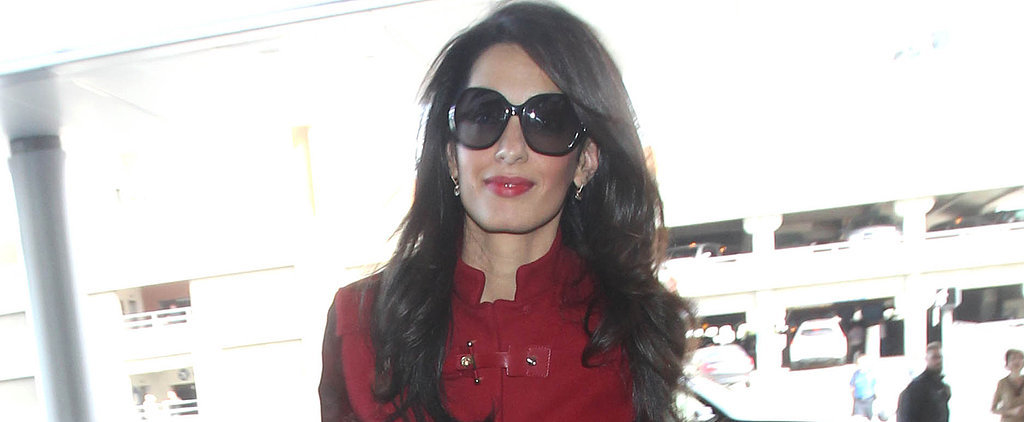 Amal Clooney Turns Heads Without George, Thank You Very Much