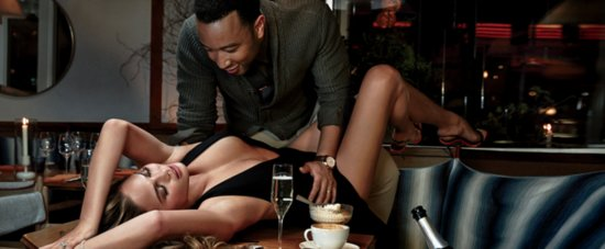 John Legend and Chrissy Teigen Heat Up the Pages of GQ, Just in Time For Valentine's Day