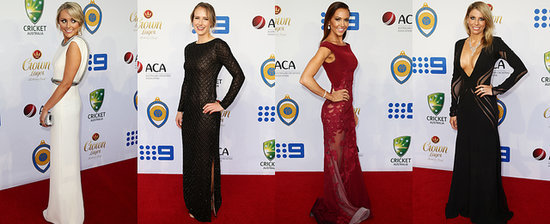 Kyly Clarke and Candice Falzon Turn Up the Heat at the Allan Border Medal