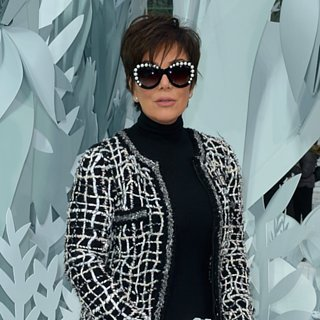 Kris Jenner's Sheer Pants at the Chanel Haute Couture Sh