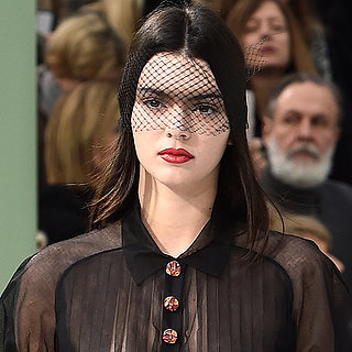 Kendall Jenner at Fashion Week Spring 2