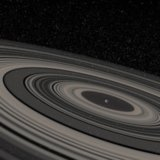 Super Saturn Planet J1407b With Rings