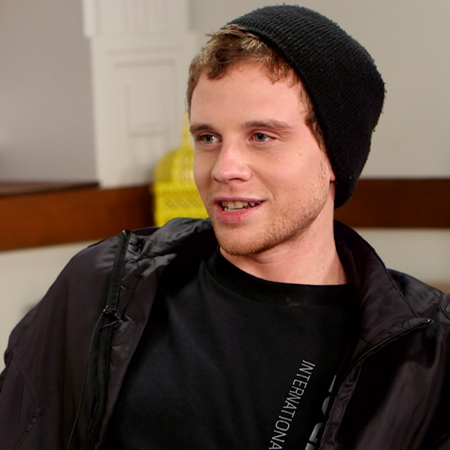 Jonny Weston Jonny Weston is about to