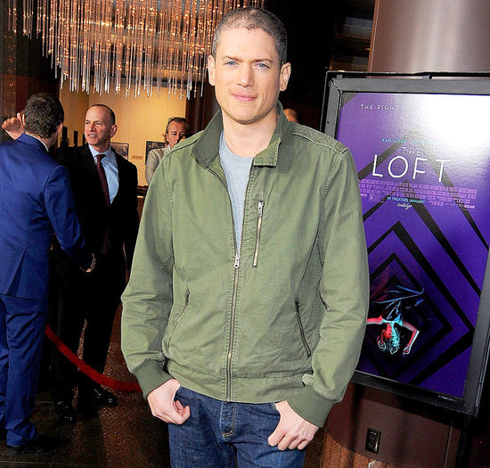 Wentworth Miller Attends First Movie Premiere in Four Years: Picture