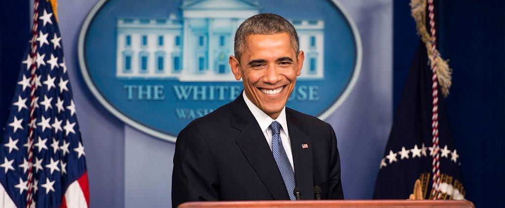 "Bruno Who? Barack Obama Sings ""Uptown Funk"""