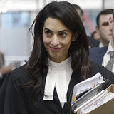 This Is What Happens When You Ask Amal About Her Outfit in Court