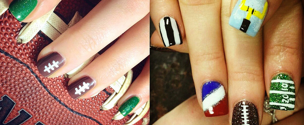 12 Super Bowl Nail Art Ideas That Are Major Wins
