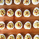 Foie Gras Truffled Deviled Quail Eggs