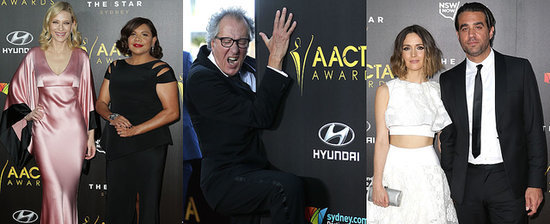 Cate! Rose! Geoffrey! See the Star-Studded AACTA Awards Red Carpet