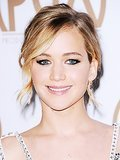 Jennifer Lawrence's Upside Down Cat-Eye, and More Celeb Beauty!
