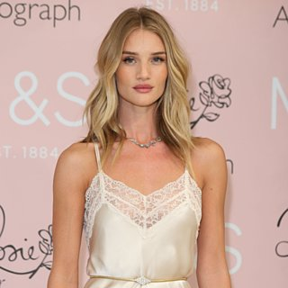 Rosie Huntington-Whiteley in Slip Dresses