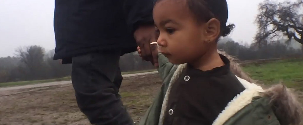 North West Makes a Very Stylish Debut in Kanye's New Video