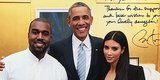 Kim & Kanye Are Pretty Much Besties With President Obama