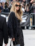 Elle Macpherson Wore The Coolest Fringe Jacket We Ever Did See