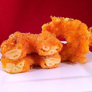 Mac and Cheese Doughnuts