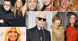 Anna Wintour and Karl Lagerfeld Partied in Paris