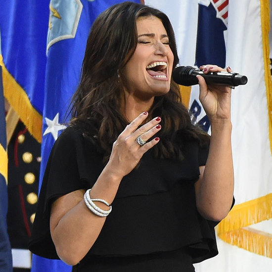 Idina Menzel Sings the National Anthem at the Super Bowl