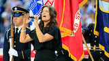 John Legend and Idina Menzel Nail Patriotic Super Bowl Performances