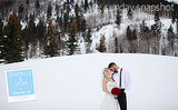 Happy Sunday! From a Formal Winter Wedding in Edwards, Colorado...