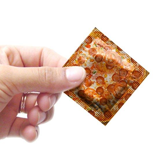 Pizza Condoms