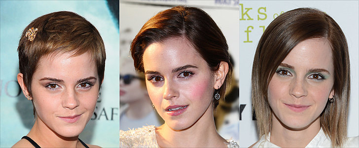 Emma Watson and More Stars Who Proved Growing Out a Pixie Is Painless