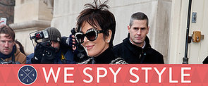 We Spy: Kris Jenner Forgot Her Pants at Home
