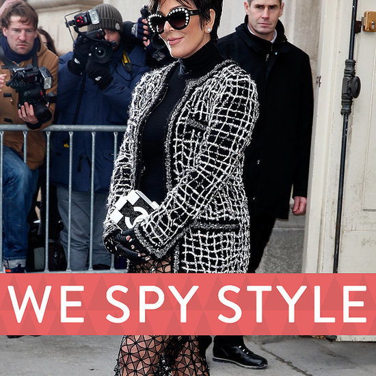 Kris Jenner in Sheer Pants | We Spy Style