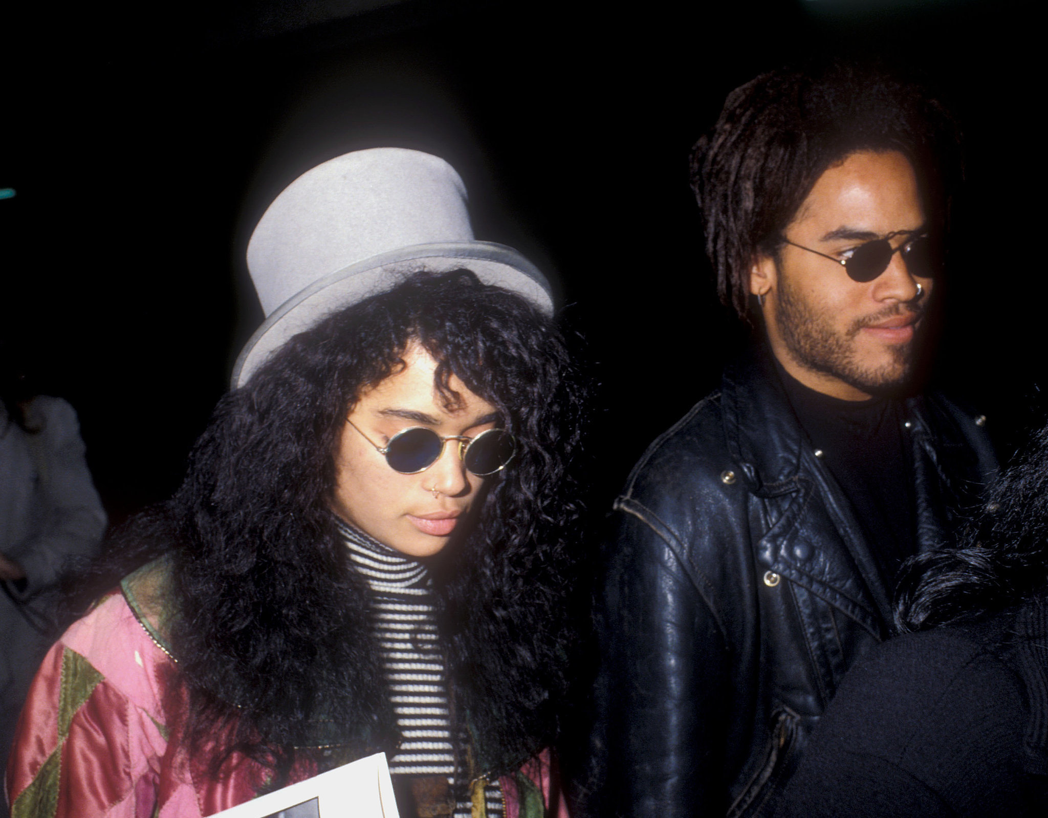 Will Smith Lisa Bonet Lisa Bonet And Lenny Kravitz