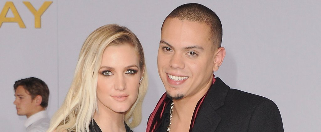 Ashlee Simpson Shows Off Her Pregnancy Glow With Evan Ross