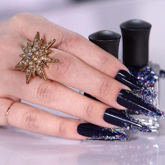 Swarovski Crystal Nails   Tutorial