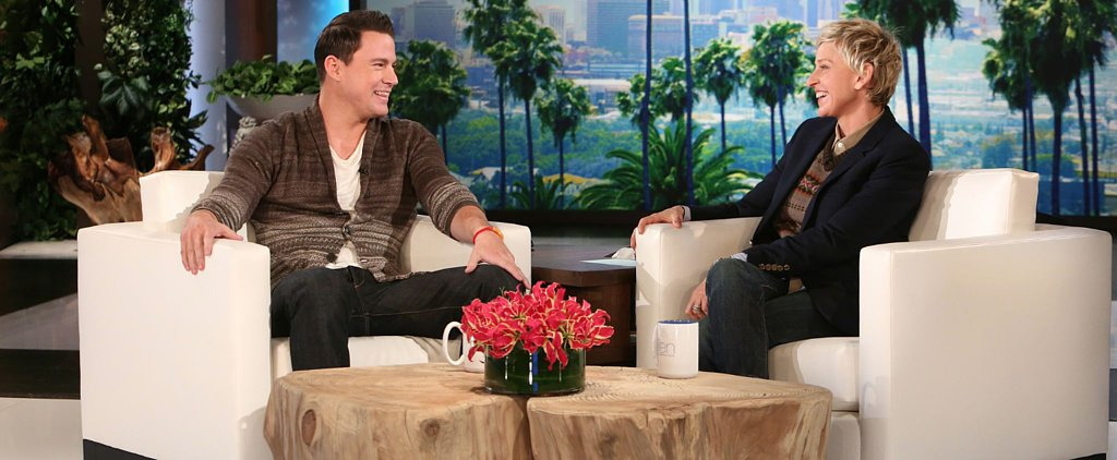 "Channing Tatum Tells Ellen There's ""Very Little Left to the Imagination"" in Magic Mike XXL"