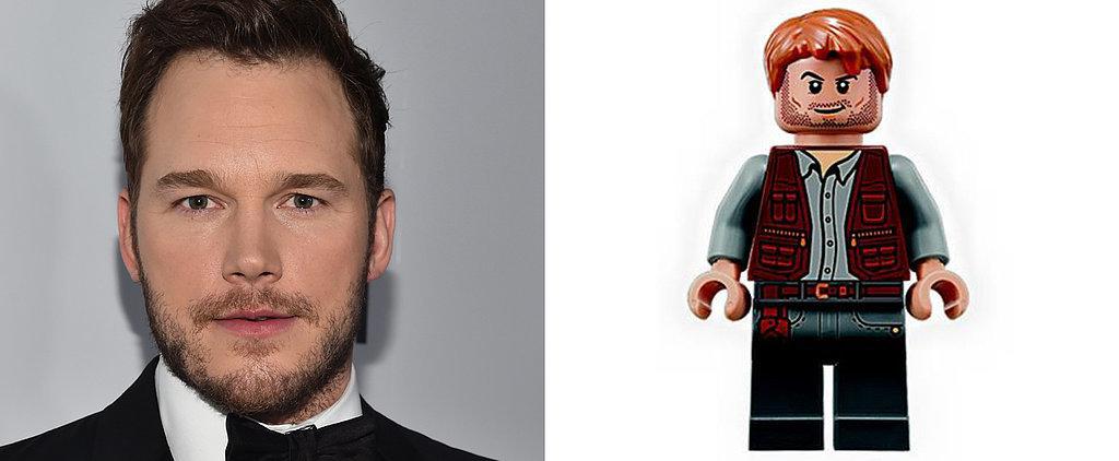 See Chris Pratt's Jurassic World Lego Figure