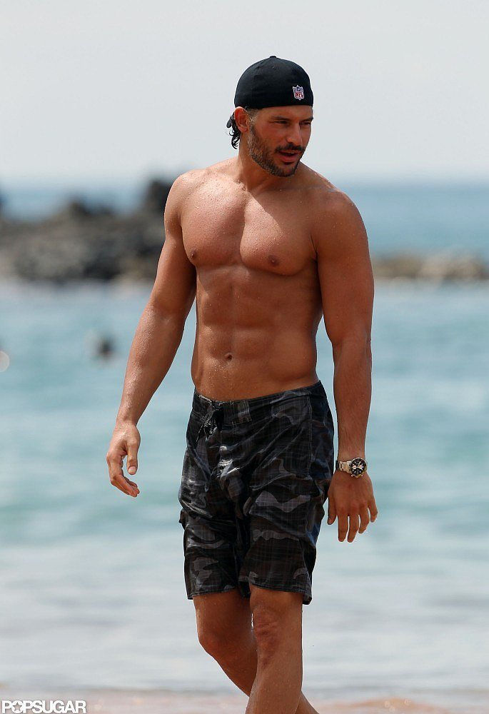 Joe Manganiello Shirtless Pictures Popsugar Celebrity