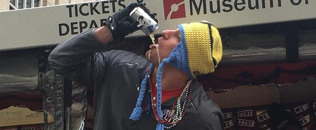 Gronk Took the Patriots Super Bowl Parade to the Next Level, For Sure