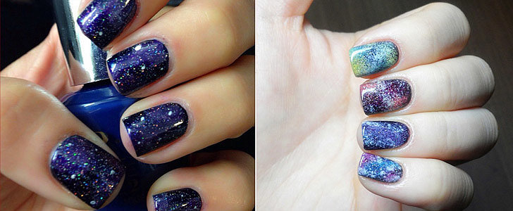 How to Get a Gorgeous Galaxy Manicure